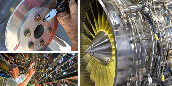 Stainless steel wire in aerospace applications